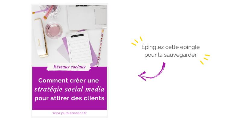 Pinterest stratégie social media